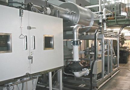 写真:高温振動試験機