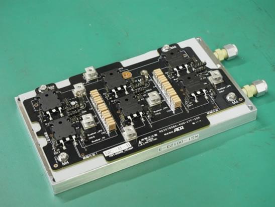 電動コンポーネント用インバータ基板開発