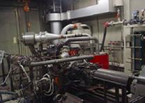 写真:エンジン試験
