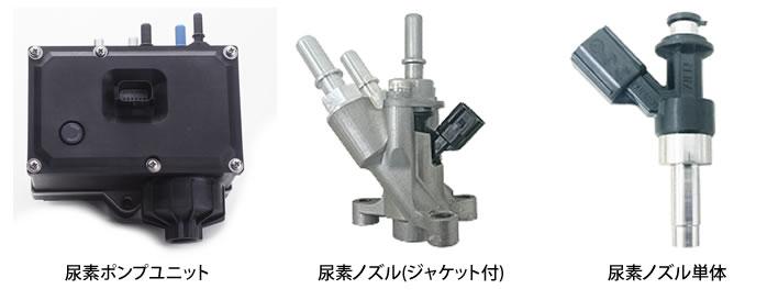 写真:尿素噴射システム