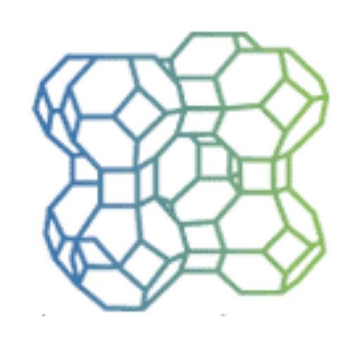 写真:人工ゼオライトモデルの一例